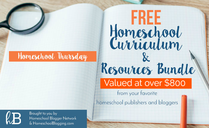 LIMITED TIME FREEBIE – $800 Worth of Homeschooling Resources