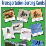 Free Transportation Sorting Cards