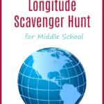 Free Longitude & Latitude Scavenger Hunt