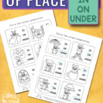 Free Prepositions of Place Printables
