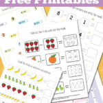 Free Fun Subtraction Worksheets (1-10)