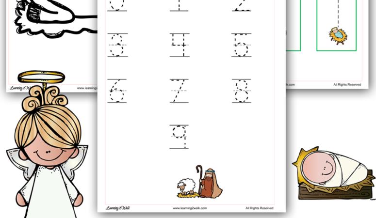 Free Nativity Preschool Worksheets