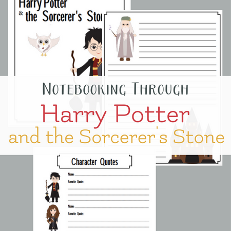 Free Harry Potter Inspired Notebooking Pages