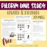 Free Pilgrim Unit Study