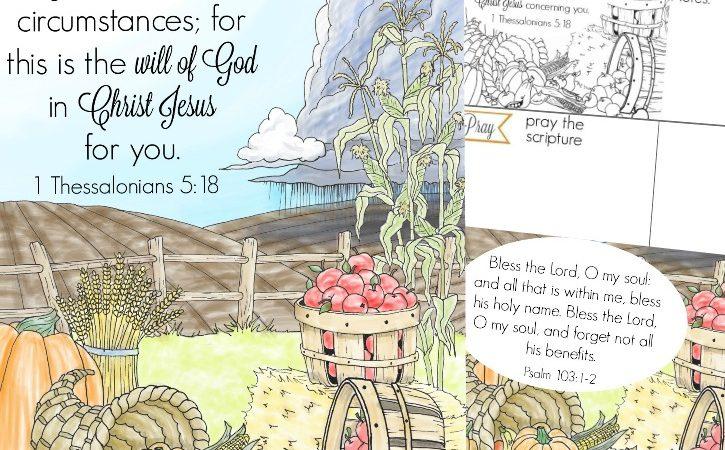 Free Gratitude Scripture Cards & Journal