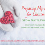 LIMITED TIME FREEBIE: Preparing My Heart Challenge Prayer Journal