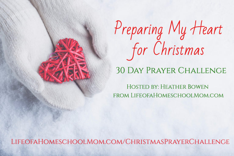 The annual Preparing My Heart Challenge kicks off on Monday 11/27/17, over at Life of a Homeschool Mom! This challenge is a 4-week journey to the heart of Christmas that includes daily scripture readings, prayer prompts, journal and more. Now through 11/25/17, you can register {and receive FULL access to all course materials} for FREE! :: www.thriftyhomeschoolers.com