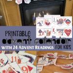 Printable Advent Calendar – Limited Time Freebie