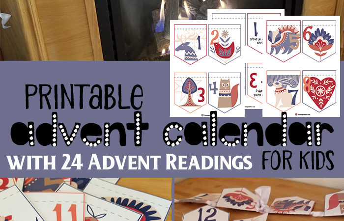 Printable Advent Calendar – Limited Time Freebie