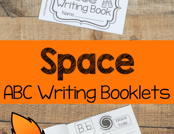 Free Space ABC Writing Booklet
