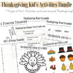 Limited Time Freebie: Thanksgiving Kids' Activity Bundle