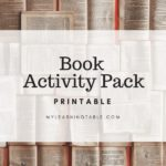 Free Book Activity Pack