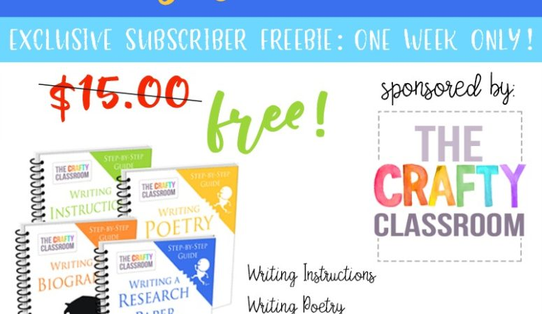 Limited Time Freebie: Writing Bundle Pack {$15 value}