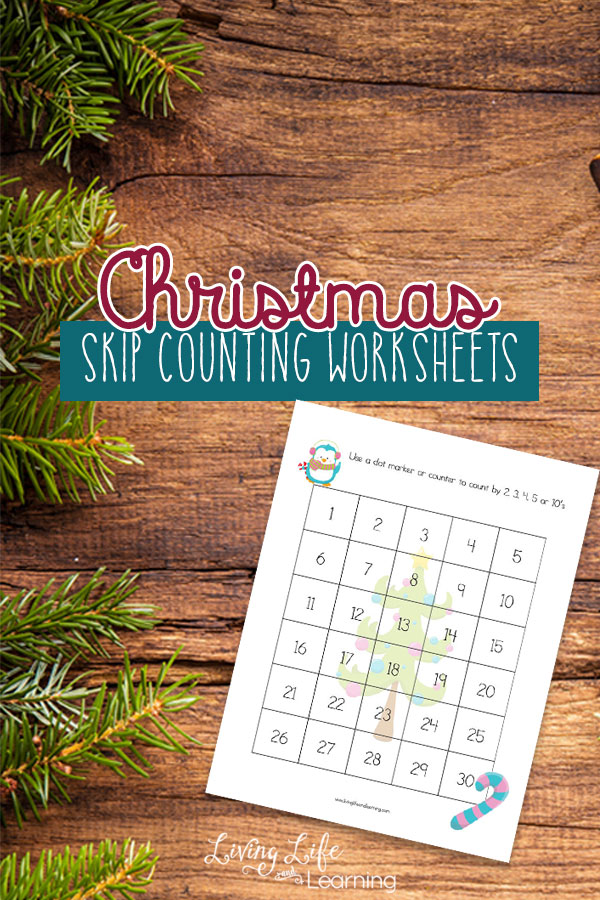 free christmas skip counting worksheets. Black Bedroom Furniture Sets. Home Design Ideas