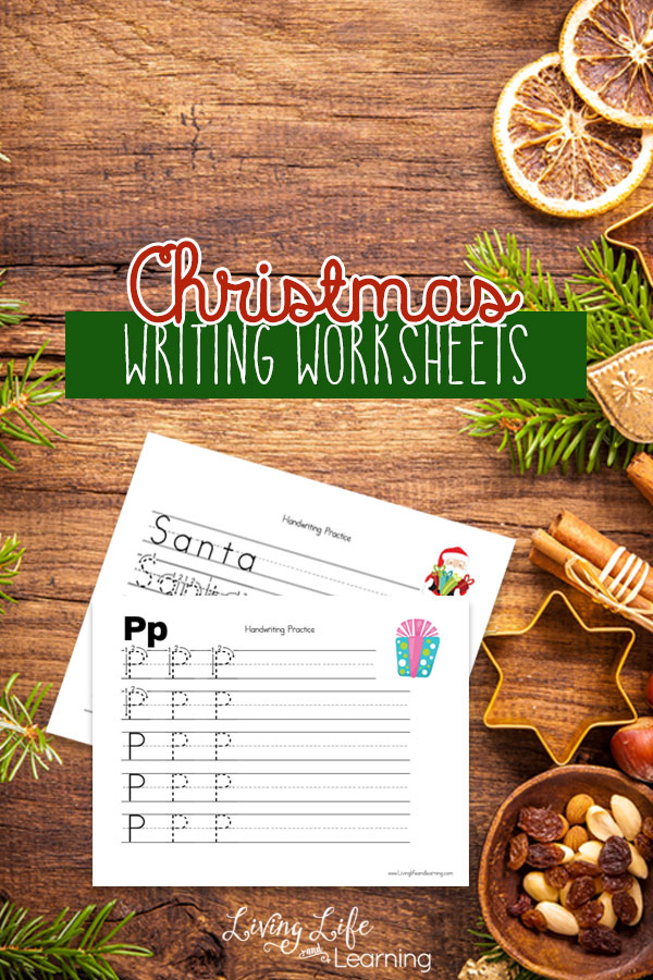 These Christmas Writing Worksheets are a fun way to practice handwriting and break away from the norm! :: www.thriftyhomeschoolers.com