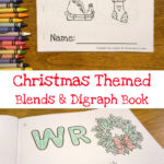 Free Christmas Themed Blends & Digraphs