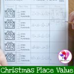 Free Christmas Place Value Printables