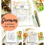 Coloring Calendars for Adults {2018 Calendar Giveaway}