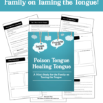 Free Taming the Tongue Family Study Guide