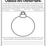 Free Create an Ornament Printable