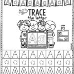 Trace the Alphabet Freebie