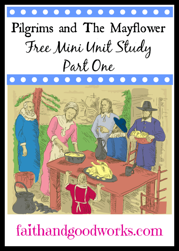 This free unit study will help kids learn more about the Pilgrims and The Mayflower. :: www.thriftyhomeschoolers.com