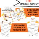 Free Give Thanks Card Set (thru Nov 2017)
