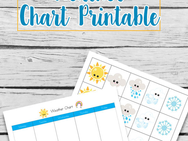 Free Printable Weather Chart