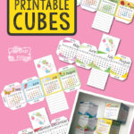 Free Printable 2018 Calendar Cubes