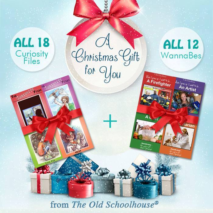 We love Schoolhouse Teachers and The Old Schoolhouse! And they love YOU too! This year they want to bless you with an incredible gift. Read more about how to get this amazing bundle absolutely FREE! :: www.thriftyhomeschoolers.com