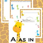 Free A as in Tall Activity Pack