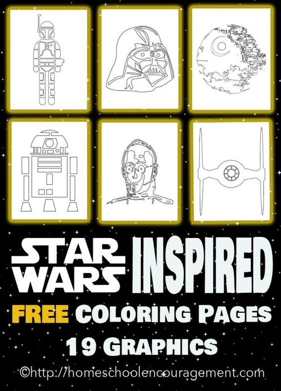 My kids are beyond excited to see Star Wars: The Last Jedi. If yours are too, build on their excitement and sneak in some fun learning with these fun, free, and exclusive Star Wars inspired coloring pages for you on the blog - (and May the Force Be With You). :: www.thriftyhomeschoolers.com