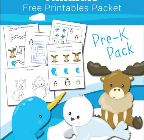 Free Arctic and Antarctic PreK Pack