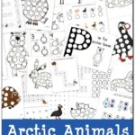 Free Arctic Animals Do-a-Dot Printables