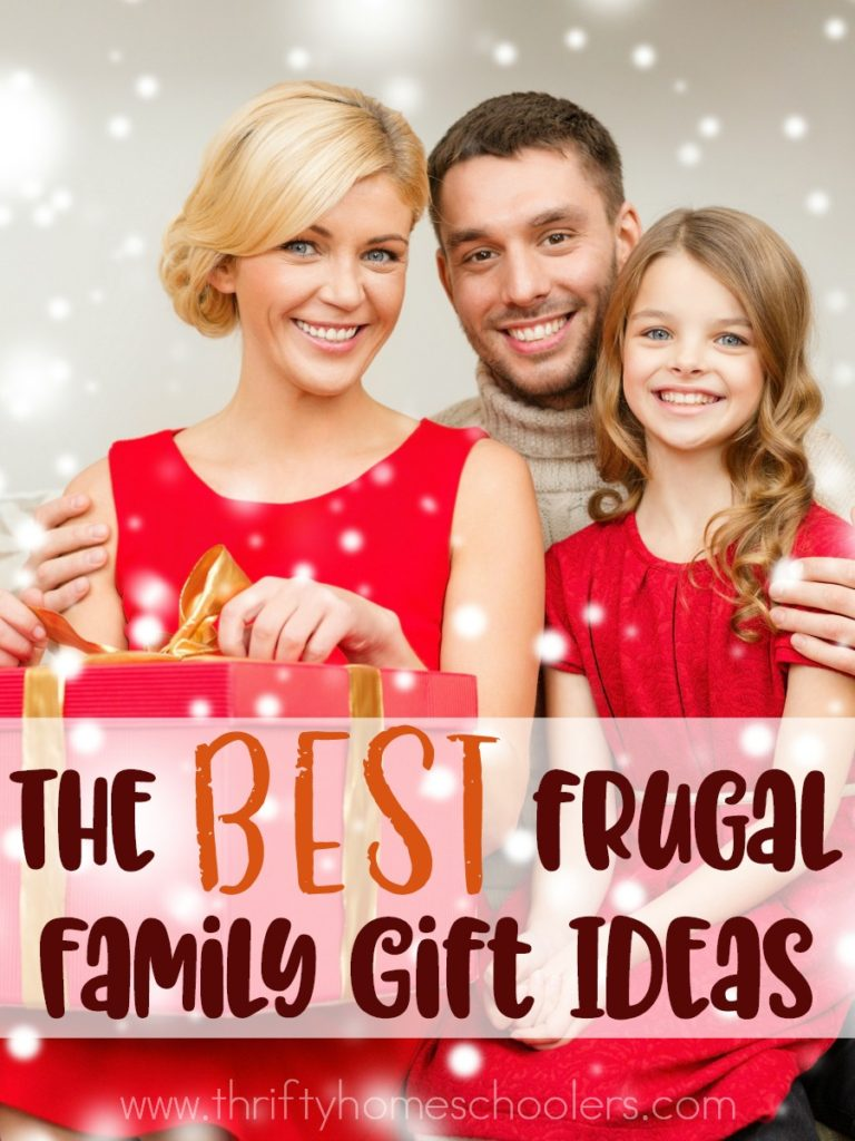 We Love Giving And Receiving Family Gifts They Create An Experience Rather Than Aculate
