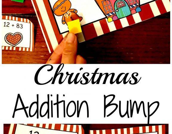 Free Christmas Addition Math Game