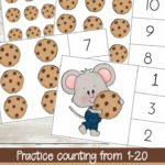 Free If You Give a Mouse a Cookie Clip Cards