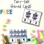 Free Fairy Tale Themed Count & Clip Cards