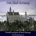 Free Printable Germany Date Dash Game