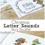Free Christmas Letter Sound Story Booklet