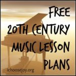 20th Century Music Lesson Plans