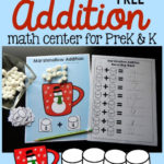 Marshmallow Addition Activity Freebie