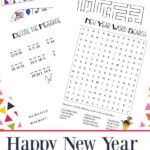 Free New Year's Game & Puzzles Pack