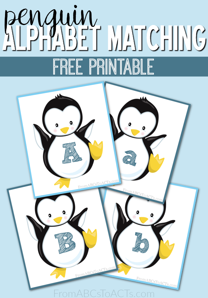 Whether your learning about penguins or working on the alphabet, these printables are a must have. These adorable penguin alphabet matching printables are perfect for some fun winter review. :: www.thriftyhomeschoolers.com