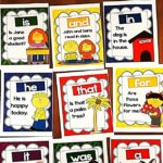 Free Fry Sight Word Sentence Posters