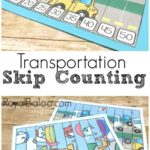 Free Transportation Skip Counting Puzzles
