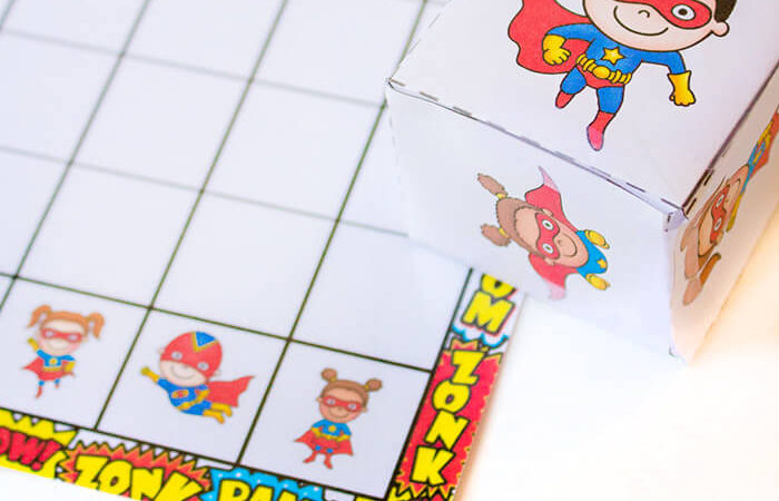 Free Superhero Graphing Printable