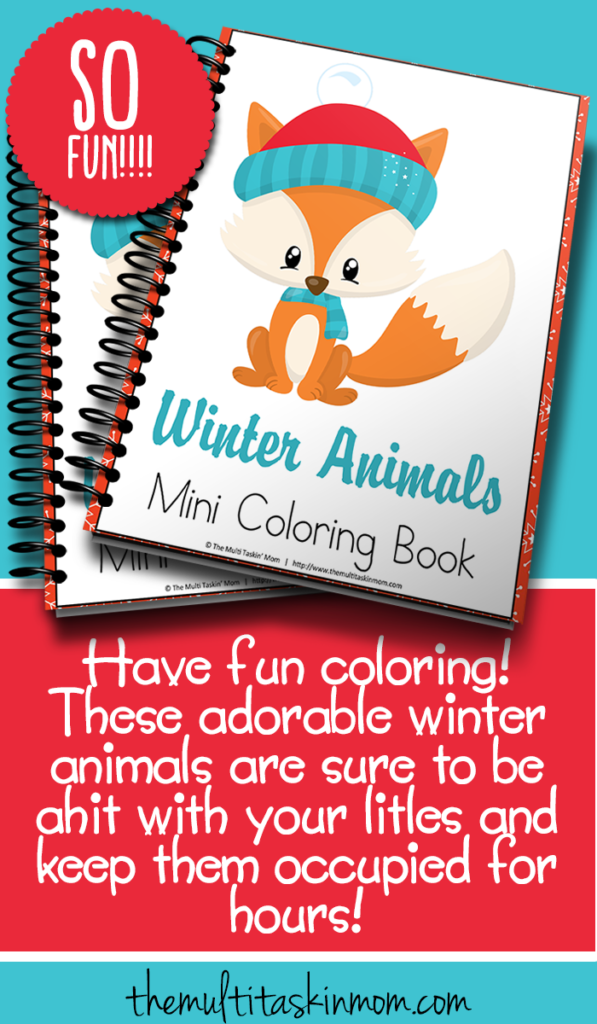 What kid wouldn't love to color some adorable animals dressed and ready for winter?! These coloring pages are perfect for a cold winter day! :: www.thriftyhomeschoolers.com
