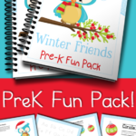 Free Winter Friends PreK Fun Pack