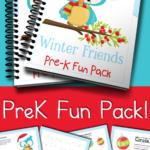 Free Winter Friends PreK Fun Pack